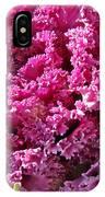 Decorative Fancy Pink Kale IPhone Case