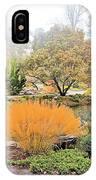 Decorative Pond IPhone Case