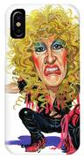 Dee Snider IPhone Case