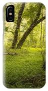 Deep In The Woods IPhone X Case