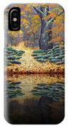 Deep Pond Reflections IPhone Case