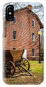 Deep River Wood's Grist Mill And Wagon IPhone Case