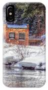 Deep Snow In Spearfish Canyon IPhone Case