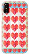 Deeply In Love Cherryhill Flower Petal Based Sweet Heart Pattern Colormania Graphics IPhone Case