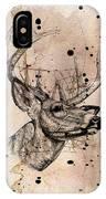 Deer 4 IPhone Case