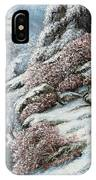 Deer In A Snowy Landscape IPhone Case
