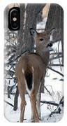 Deer In The Grove IPhone Case