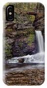 Deer Leap Falls IPhone Case