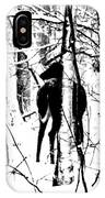 Deer Shadow IPhone Case