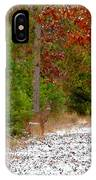 Deer Trail IPhone Case