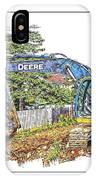 Deere For Hire2 - Excavator - Digger IPhone Case