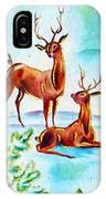 Deers Break IPhone Case