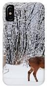 Deers In Winter IPhone Case