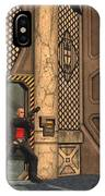 Defending Their Outpost IPhone Case