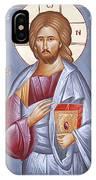 Deisis Jesus Christ St Anastasios And St Eleftherios IPhone Case