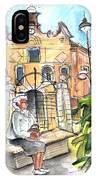 Del Carmen Church In Cartagena IPhone Case