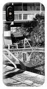 Del Marcos Pool Bw Palm Springs IPhone Case