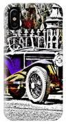 Delage Co2 Dupla Cowl Tourer IPhone Case