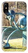 Delaware Art Museum Lawn  IPhone Case