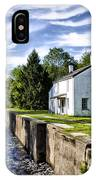 Delaware Canal Kingston New Jersey IPhone Case