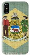 Delaware State Flag IPhone Case