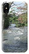 Delhi Rapids From The Bridge IPhone Case
