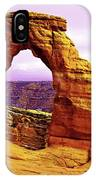 Delicate Arch - Arches National Park IPhone Case