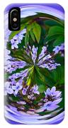 Delicate Flowers Orb IPhone Case