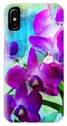 Delicate Orchids IPhone Case