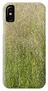 Delicate Tall Grasses IPhone Case