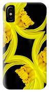 Delightful Daffodil Abstract IPhone Case