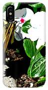 Delta Butterfly Cafe IPhone Case