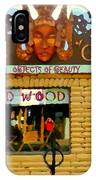 Delusions Of Grandeur Bank St Furniture Art Store On The Glebe Paintings Of Ottawa Scenes C Spandau IPhone Case