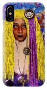 Demonica Vintage Goth IPhone Case