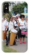 Dende Nation Samba Drum Troupe IPhone Case