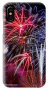 Denver Fireworks Finale IPhone Case