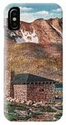 Denver Mountain Parks Antique Post Cards IPhone Case