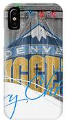 Denver Nuggets IPhone Case