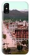 Denver Panorama 1897 IPhone Case