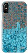 Denver Skyline Abstract IPhone Case