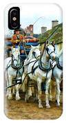 Departing Cranford IPhone Case by Paul Gulliver