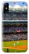 Derek Jeter Leads The Way As The Yankees Take The Field IPhone Case