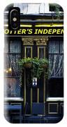 Derek Trotter's Pub IPhone Case