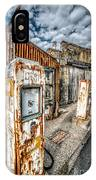 Derelict Gas Station IPhone Case