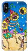Desert Holiday Celebration IPhone Case