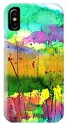 Desert In The Spring IPhone Case
