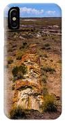 Desert Log IPhone Case