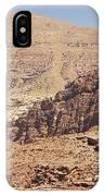Desert Of Wadi Musa IPhone Case