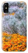 Desert Poppies And Sage IPhone Case