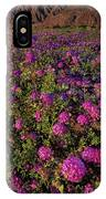 Desert Sand Verbena Wildflowers IPhone Case